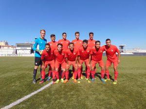 Once Sevilla FC. Ceutadeportiva.com