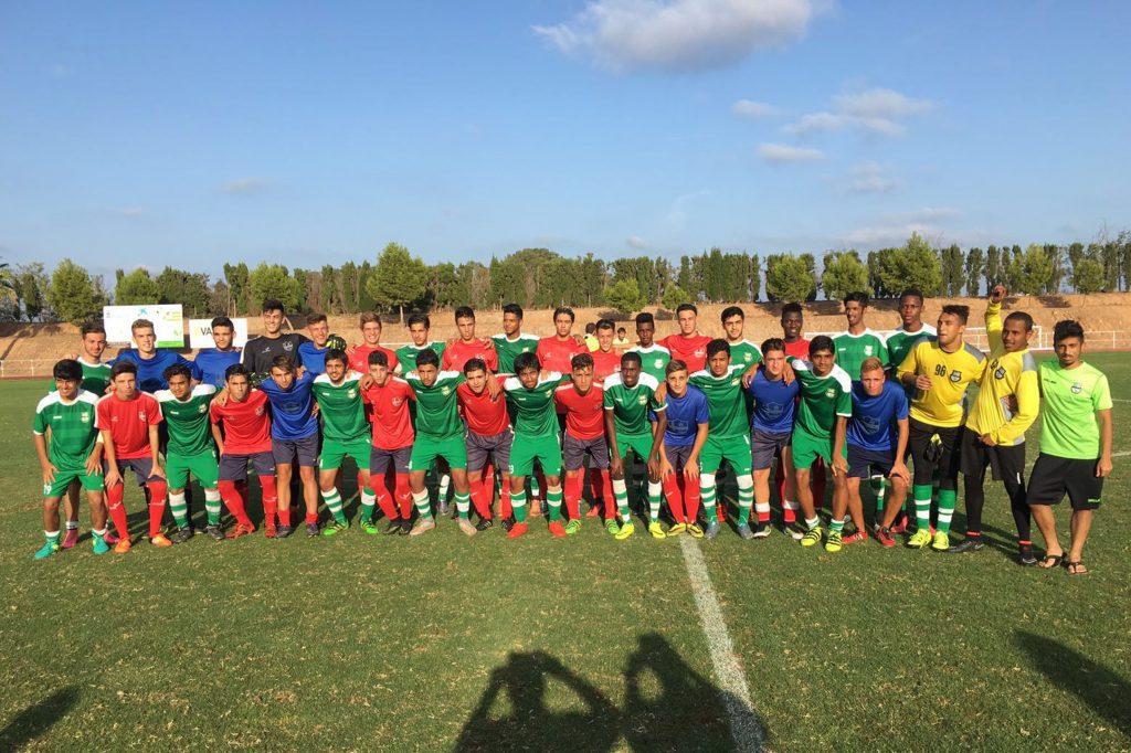 Partido contra el Doha Juvenil.